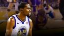Video: Kevin Durant tells Isaiah Thomas 'Get yo a** up'