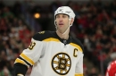 Chara and DeBrusk are out through Saturday (at least)