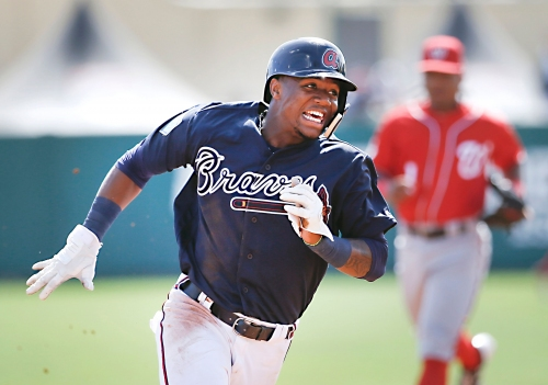 Braves matched last spring's homers, wins totals
