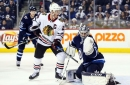 Hawks look to continue road dominance in Winnipeg