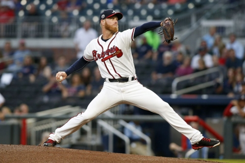 Folty tosses five hitless, Acuña homers as Braves tame Tigers, 8-1