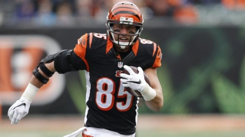 Tyler Eifert agrees to a one-year deal to stay with Bengals