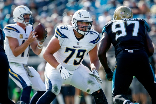 Detroit Lions sign former Chargers guard Kenny Wiggins