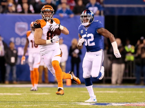 Cincinnati Bengals, Tyler Eifert head down boom or bust path once more