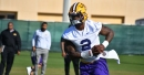 LSU spring football practice report: Tigers don full pads for first time