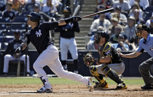 Gary Sanchez allows passed ball, looks to shed 'lazy' label