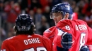 Oshie scores 2 as Capitals rout Islanders