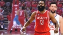 Video: James Harden hits clutch shot over Austin Rivers, adds burn with savage taunt