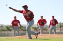 Cardinals notebook: Reyes faces hitters, including Wainwright