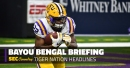 Forget QBs, LSU running back battle is best competition this spring