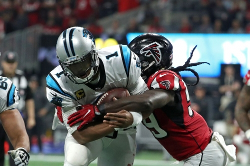 Three Falcons earned significant performance bonuses based on 2017 seasons