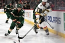 The Wild makes its first ever trip to Las Vegas to start crucial back-to-backs