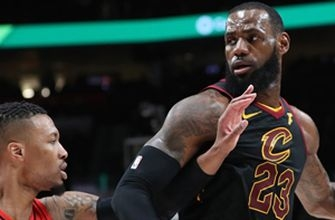 Shannon Sharpe reacts to LeBron's Cavs losing to the Portland Trail Blazers