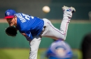 Cole Hamels will start Game 1 for the Rangers; what is more significant is when he will make his next start