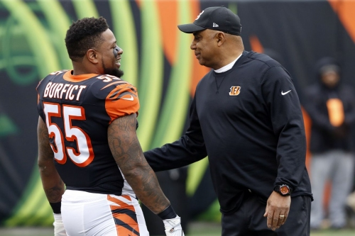 Bengals LB Vontaze Burfict facing 4-game suspension for PED use
