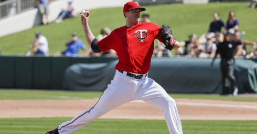 Kyle Gibson pitches 5 strong innings, Twins top Rays 8-1