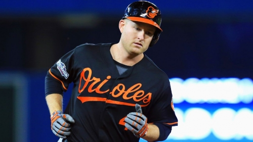 Baltimore Orioles' designated hitter Mark Trumbo will miss at least 3-4 weeks due to quad strain