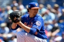 Jacob deGrom tosses five scoreless, X-rays negative on Jason Vargas' right hand