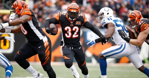 Report: Former LSU RB Jeremy Hill to sign with New England Patriots