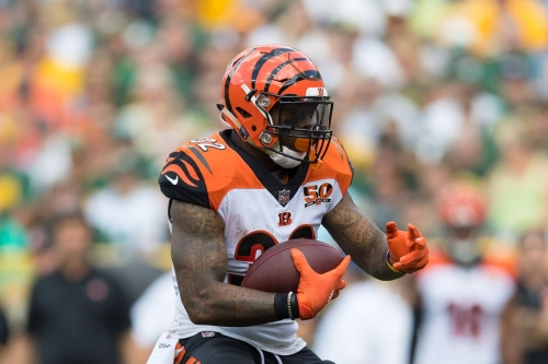 Former Bengals RB Jeremy Hill signing with Patriots
