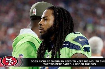 Does Richard Sherman need to stop talking?