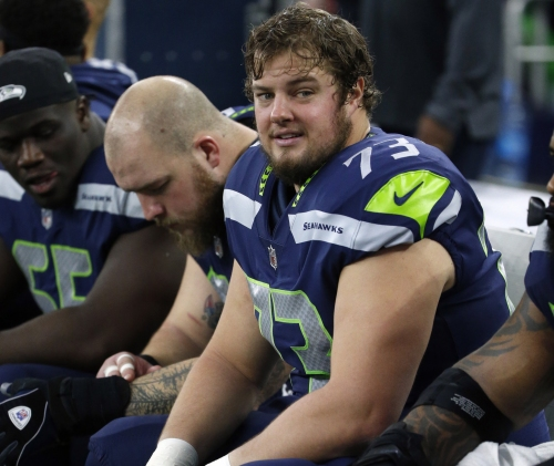 New England Patriots sign former Seattle Seahawks OL Matt Tobin to one-year deal (reports)