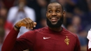 LeBron James Shuts Down Fan's Kyrie Irving Taunt With 'Your Mama' Joke