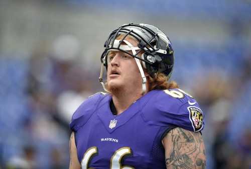 Bucs reach agreement with Ravens free agent Ryan Jensen to make him one of the NFL's top paid centers