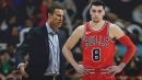 Fred Hoiberg not happy with Zach LaVine waiting for the ball