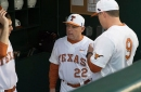 Nolan Kingham's complete game and the Texas offense dominate Kansas 14-4 in game one
