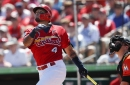 Molina has two homers, a single and a double