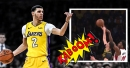 Video: Lonzo Ball erases Justise Winslow's shot with huge block