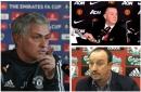 Manchester United boss Jose Mourinho has had his Benitez moment