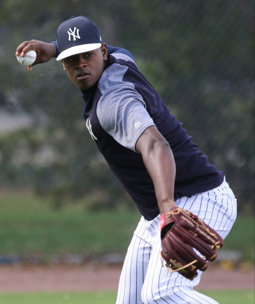 Luis Severino named Yankees opening day starter