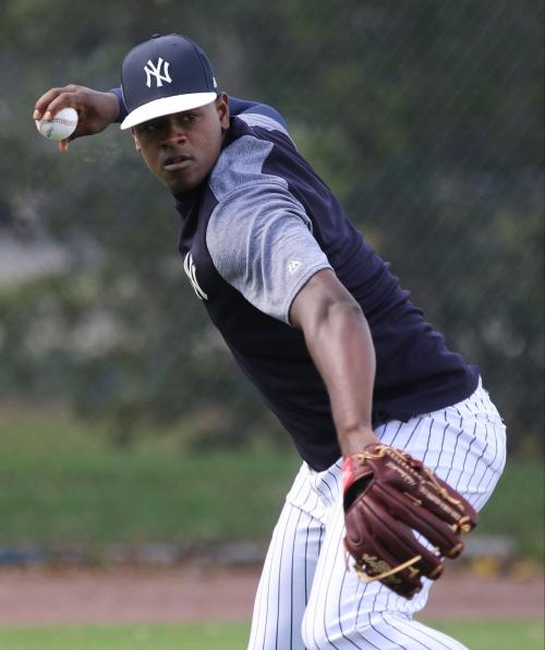 Yankees name Luis Severino as opening day starter