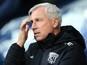 West Bromwich Albion boss Alan Pardew bemoans
