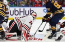 Hawks fall 5-3 to Sabres