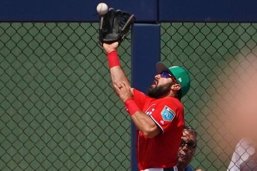Nationals drop 9-7 decision to New York Mets: Adam Eaton homers in 2018 Grapefruit League debut...