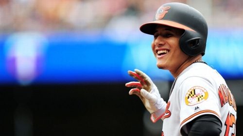 Manny Machado of Baltimore Orioles says pitch by Aaron Judge of New York Yankees was no big deal