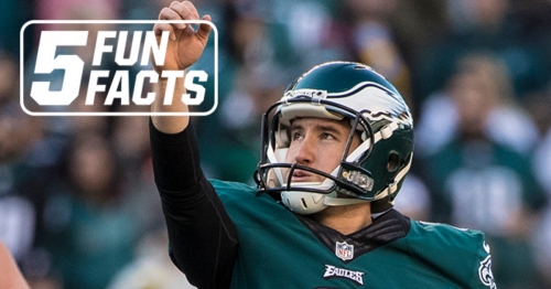 Five Fun Facts: Caleb Sturgis