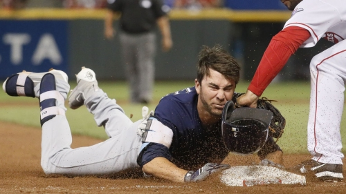 Brewers win slugfest but Reds hammer Wade Miley