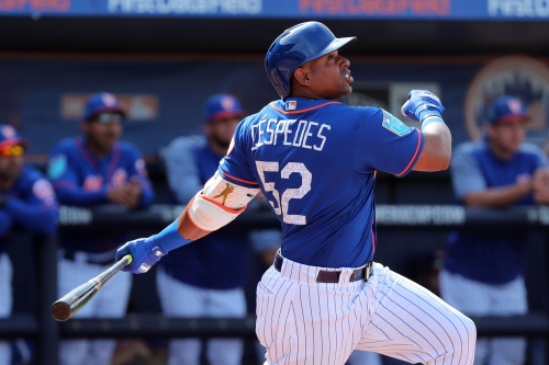 Yoenis Cespedes' wrist is ready for its big test