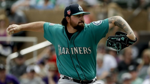 Mariners blow five-run lead in the final two innings in loss to Rockies