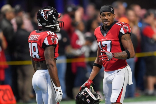 Report: Falcons could replace Taylor Gabriel with Marvin Hall or Reggie Davis