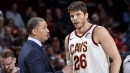 With Kyle Korver out, coach Tyronn Lue forced to do more mix and match with short-handed Cavs | NBA.com
