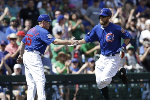 Indians 5, Cubs 1: Ben Zobrist homers in loss