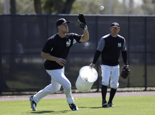 Aaron Judge likely won't play any left field for Yankees