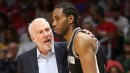 Gregg Popovich on if Kawhi Leonard could play in playoffs without playing in regular season
