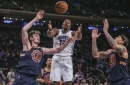 Hornets blown out by Knicks on the road, 124-101