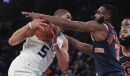 Knicks rout Hornets, 124-101, at home to end nine-game skid
